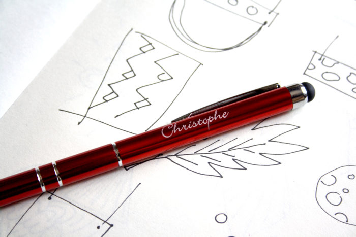 stylo personnalisé