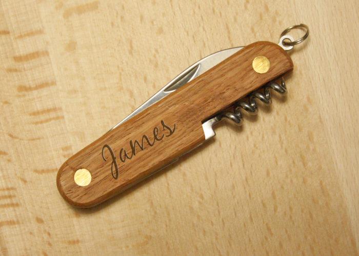 couteau personnalisé