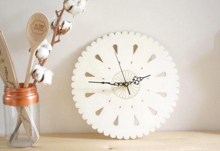 horloge bois