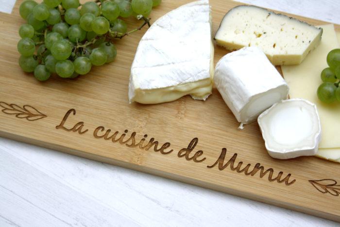 planche fromage personnalisée