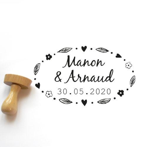 tampon mariage champêtre