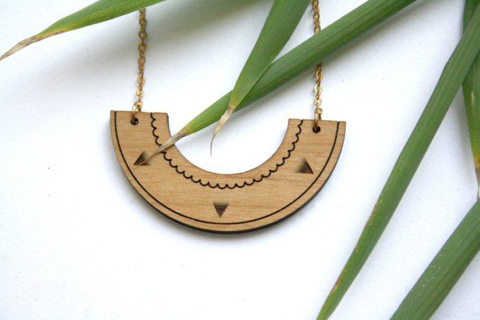 bijoux bois