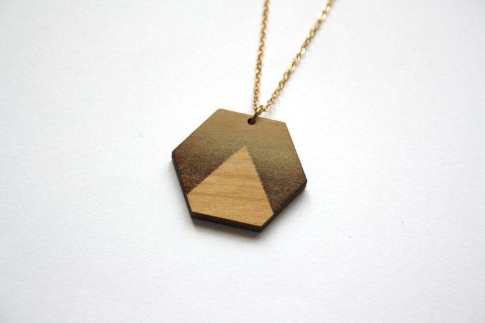 collier bois