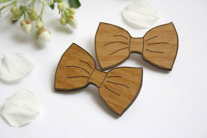 broche noeud papillon