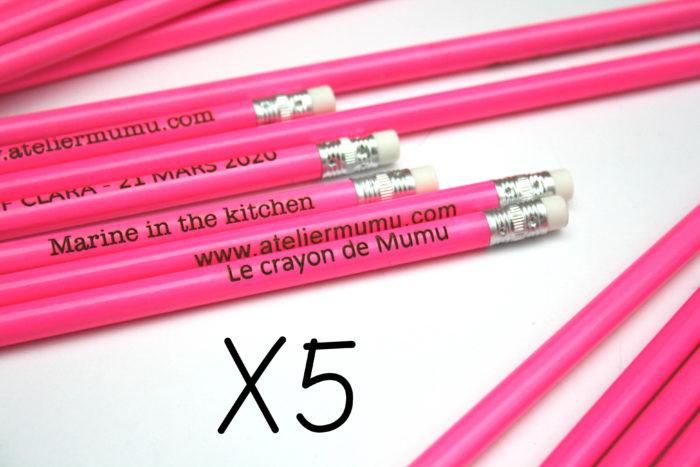 Crayon bois rose