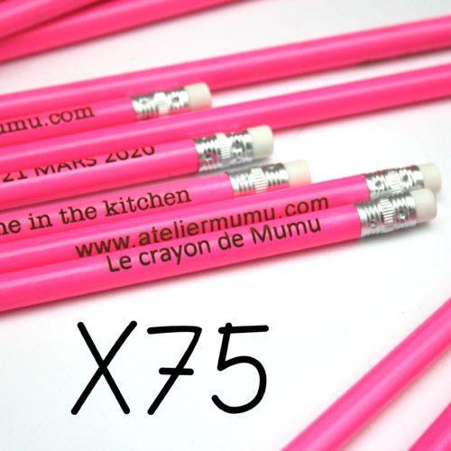 crayons bois