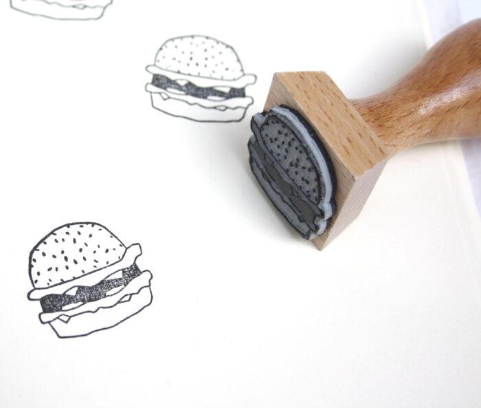 tampon hamburger